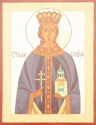 De heilige Sophia van Rome - door Wil de Groot