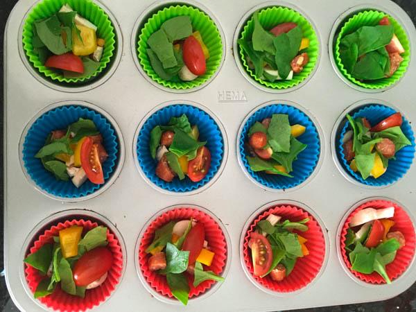 Muffins met groente uit de Makkelijke Moestuin