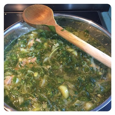 De soep van Chris