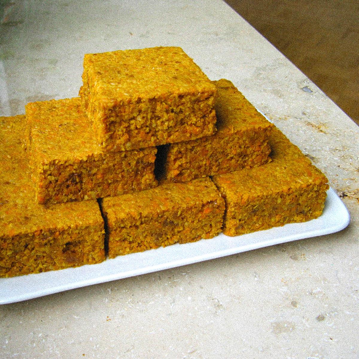 Wortel cakejes zonder meel en suiker