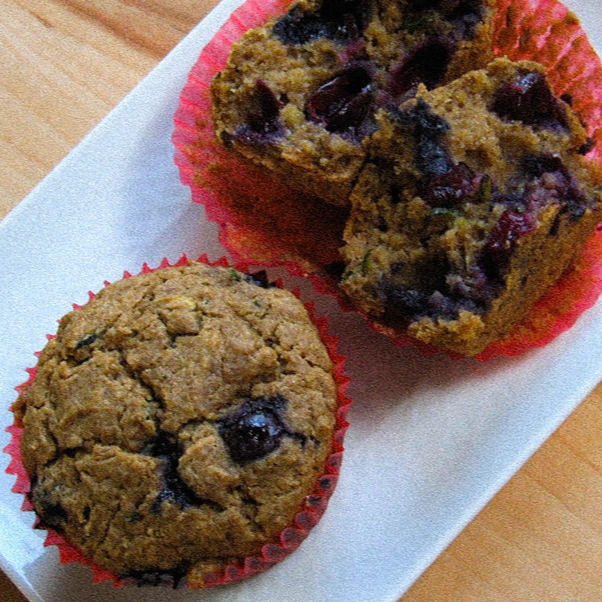 Heerlijke cupcakes, mét courgette!