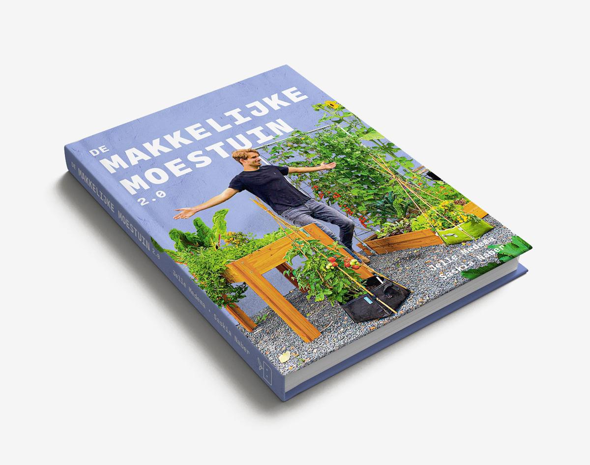 Het nieuwe boek van de Makkelijke Moestuin