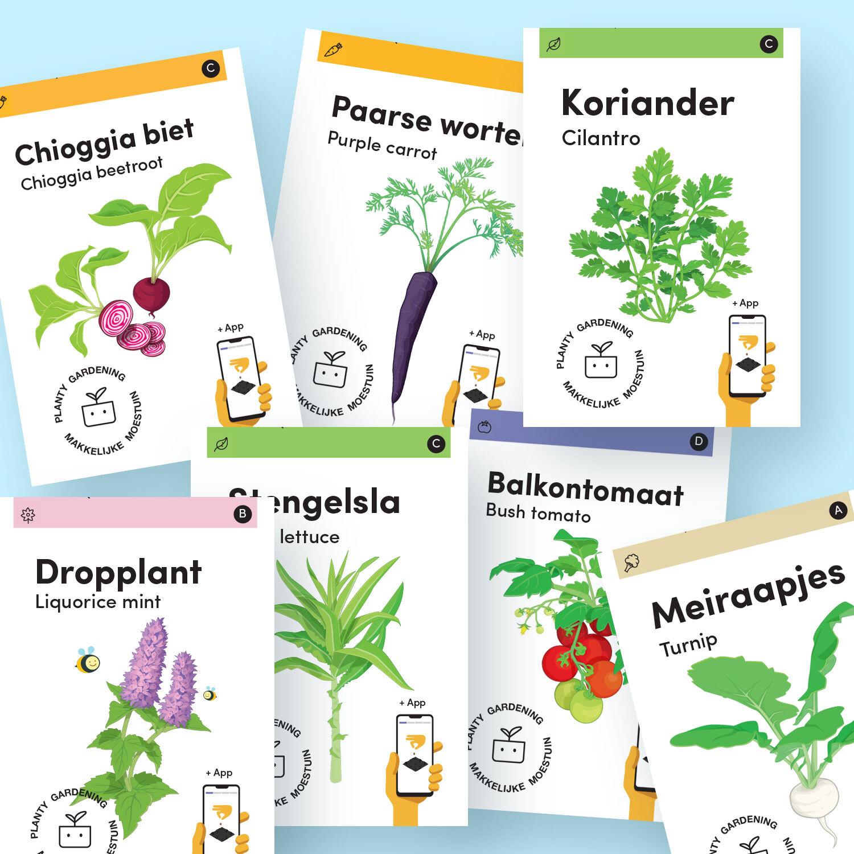 Nieuwe zaden 2021 bij de Makkelijke Moestuin
