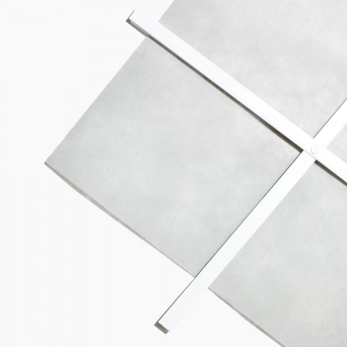 Rasterset met anti-onkruiddoek 60x120