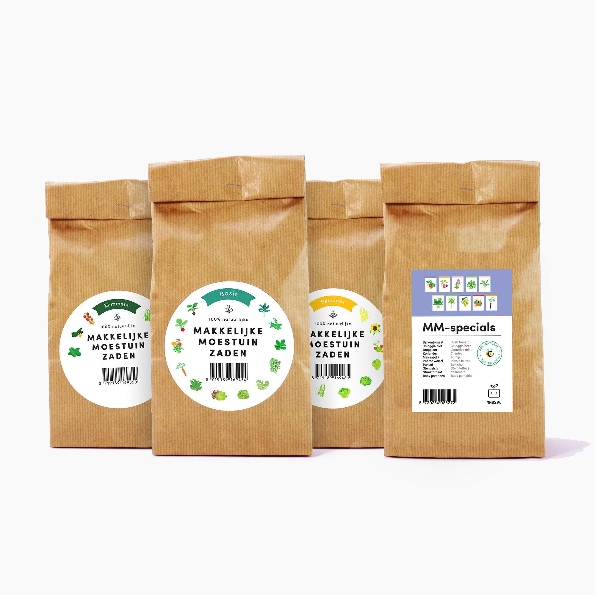Makkelijke Moestuin Specials zadenpakket