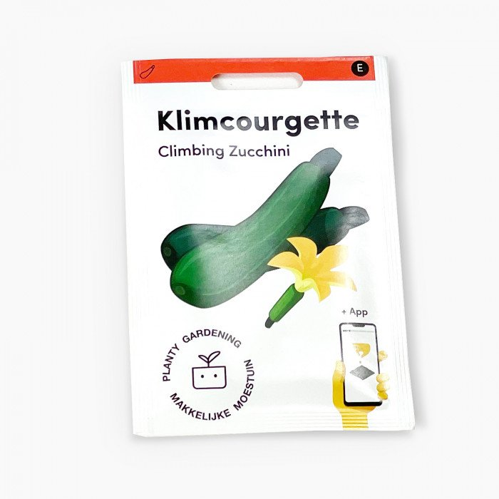 Klimmende Courgette